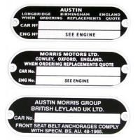 Motor- und Fahrgestellplatten