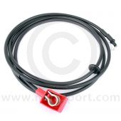 Positive battery cable - 134''  1985-90