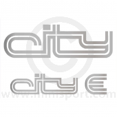 Mini City E Decal Kit - Sides & Boot