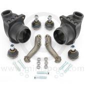 Mini lightweight alloy front hub kit for all disc brake Minis