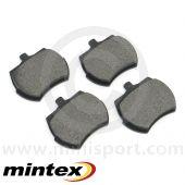 GBP281MIN Mintex Standard Brake Pad set - Mini 1984 on