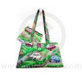 Cotton Green Handbag and purse combo with Classic Mini design