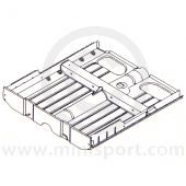 MCR31.33.00.00 Complete floor assembly, square shaped tunnel, Mini Van and Pick-up Mk1 and Mk2 models.