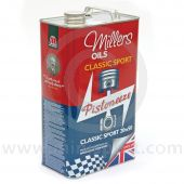 MIL20/50C Millers classic Mini semi synthetic sport engine oil - 20w 50 - 5 litres