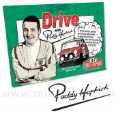Drive with Paddy Hopkirk Book - Signed by Paddy Hopkirk