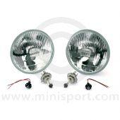 Mini Halogen Headlight Kit - RHD by Wipac Quadoptic