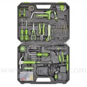 S01224 - Sealey 101pc Tool Kit with Cordless Drill