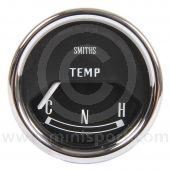 SMIBT2204-11B Mini Smiths Water Temperature Gauge - Electric - Black face