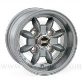 "6 x 10"" Ultralite Mini Deep Dish Wheel - Flat Gunmetal"
