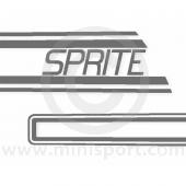 Mini Sprite 1983 Decals