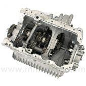 R/GRODSC Mini 4 syncro, straight cut gearbox for rod type gear change.