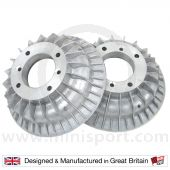 Mini Rear Brake Assembly & Superfin Brake Drums