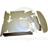 19 Piece Interior Panel Kit Mini Saloon 59-69 with Oval Speedo