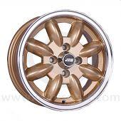 5.5 x 13 Minilight Wheel - Gold/Polished Rim