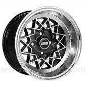 7 x 13 Rally Special Wheel - Black Hi-Lite