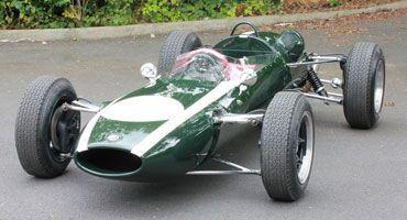 Sir Jackie Stewart Cooper T72 Restoration