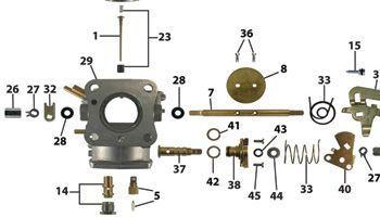 HIF38/HIF44 SU Carburettors